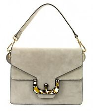 COCCINELLE Ambrine Graphic Suede Small Hand Bag