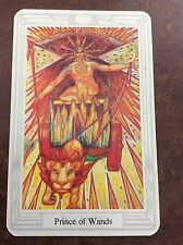 Aleister Crowley Thoth Tarot Small Deck Prince Of Wands INDIVIDUAL CARD Magik