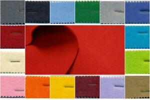 Tessuto panno feltro di poliestere spessore 3 mm. prezzo è riferito a cm. 50x100