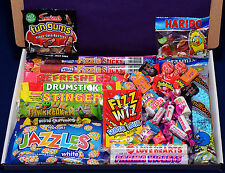 Retro Sweets Gift Box - Christmas Present - Hamper - Jazzles - Millons - Candy