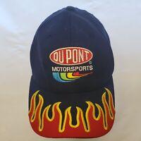 Dupont Motorsports Nascar Jeff Gordon #24 Rare Bill Flames Baseball Cap Hat