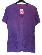 Kurzarm Damen-Pullover & -Strickware aus Baumwollmischung mit Knöpfen