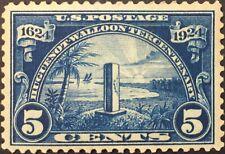 U.S. Huguenot-Walloon Issue (1924) Five Cents - Dark Blue - Scott #616 Mnh
