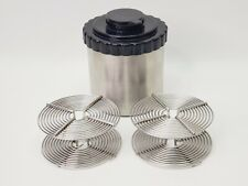 Stainless Steel Film Developing Canister Tank w/ 2 Reels