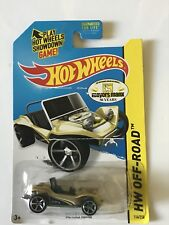 HOT WHEELS 114/250 - HW OFF-ROAD - MEYERS MANX - GOLD 50 YEARS - DAMAGED BLISTER