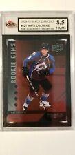 Matt Duchene 2009-10 Quad Black Diamond RUBY Rookie Hockey Card #91/100 KSA 8.5!