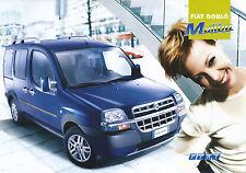 FIAT DOBLO MALIBU PROSPEKT 5/03 SALES BROCHURE 2003 auto automobili opuscolo Italia