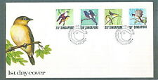S'pore  FDC Singing birds 1.7.1978