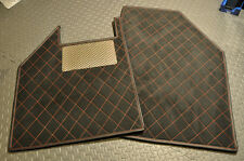Spyker C8 Aileron Custom Alcantara Floor Mats Stainless Steel Heel Pad