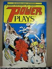 Power Plays #1 By: Extrava-Gandt Enterprise (1983)  Excellent Condition