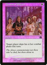 MTG - Mercadian Masques - Moment of Silence - Foil - NM