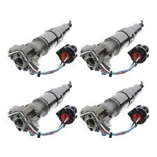 2005-2010 Ford Super Duty 6.0L Powerstroke Diesel Fuel Injectors 4 Set OEM NEW