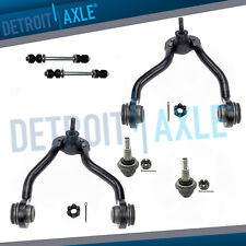 Front Upper Control Arm Ball Joints Sway Bars 96-00 K1500 Suburban Tahoe GMC 4WD