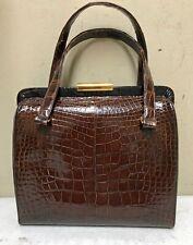 Vintage Coblentz Original Burgundy Grained Leather Handbag Purse from 1960's