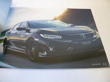 Honda Civic Hatchback/Sedan Brochure Catalog Japan free shipping