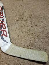 CAM WARD 13'14 Signed Carolina Hurricanes GOALIE Game Used Hockey Stick NHL COA