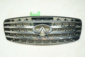03-06 INFINITI FX35 FX45 FRONT UPPER GRILLE GRILL CHROME OEM *READ*