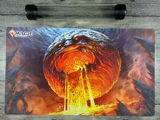 Magic the Gathering Chaos Orb Playmat Custom MTG TCG CCG Play Mat Free Best Tube