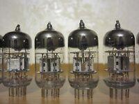 2x 6N2P-EV (~12AX7, ~ECC83) USSR DOUBLE TRIODE, VOSKHOD [NEW & NOS]