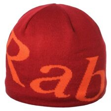 RAB Logo Beanie Hat. One Size . Colour Red