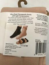Comfort Compression Socks for Women & Men Brushed Fleece inside Soft 2 pair