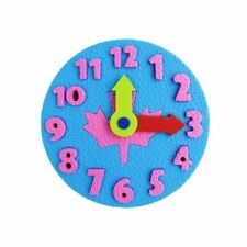 Clock Early Learning Education Baby Kids Toys Montessori Teaching Aids Math Toys