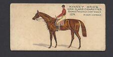 KINNEY - FAMOUS RUNNING HORSES (ENGLISH) - GEORGE FREDERICK
