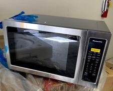 KitchenAid Stainless Steel Microwave Model #KMCC5015GSS-1.5 CF. 1000W