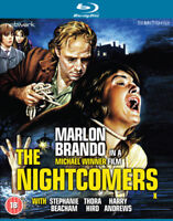 The Nightcomers Blu-Ray (2015) Marlon Brando, Winner (DIR) cert 18 ***NEW***