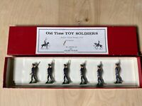 Old Time Lead Toy Soldiers French Alpine Troops 1914 Britains Pre-Owned