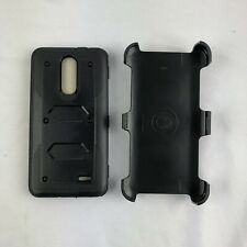 ZTE Grand X4 Z956 Defender Shockproof Case W Holster Belt Clip Black Screen prot
