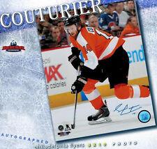 SEAN COUTURIER Signed Philadelphia Flyers 8 X 10 Photo -70463