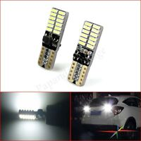 8x Motorcycle Scooter Canbus Error Free T10 LED 24smd 4014 LED Wedge Light Bulb
