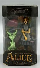 American McGee's Alice & Cheshire Cat Figures Glow Variant Tower Records - GITD