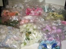Pre-used Silk Flowers Mixed Colours