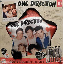 """ONE DIRECTION"" SOFT SECRET DIARY MP3/LOUDSPEAKER/ CONNECTOR. BY: IMC TOYS. NEW!"