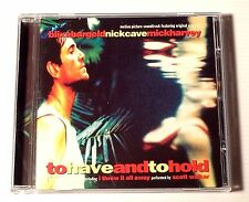 CD ALBUM / NICK CAVE (BOF) TO HAVE AND TO HOLD / ANNEE 1996