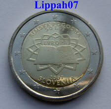 Slovenië 2 euro Verdrag van Rome 2007 UNC