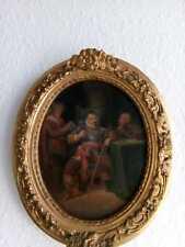 Gemälde,Ölgemälde,Ölbild,signiert,datiert,alt,antik,Altmeisterstil,akademisch