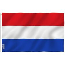 Anley Dutch Flag Netherlands Holland Banner Polyester 3x5 Foot Country Flags