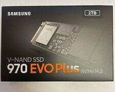 Samsung 970 EVO Plus 2 TB NVMe M.2 2TB Internal Solid State Drive