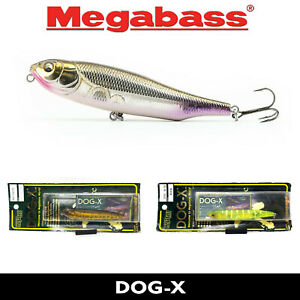 ORIGINAL Megabass DOG-X FLOATING JAPAN TOP WATER FISHING LURE BAIT 80mm 8.4g