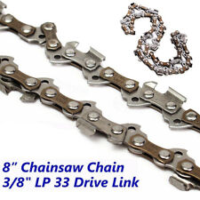 "2019 8"" 33DL 3/8""LP Saw Chain Chainsaw For Earthwise PS40008 Electric Pole Saw ~"