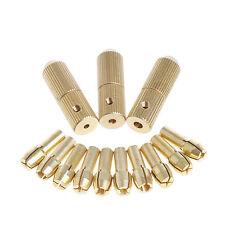 3+10Pcs 0.5-3.2mm Micro Twist Hand Drill Kit Chuck Electric Drill Bit Collet
