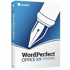 WordPerfect Office X9 Standard Official Download Link Serial Number