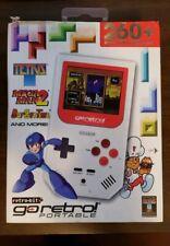 Retro-Bit Go Retro Portable System Red/White Capcom & Data East Mega Man Tetris