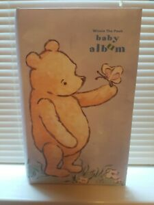 Disney Classic Pooh by Michel & Co. Baby Photo Album - Holds 80 4 x 6 Photo's