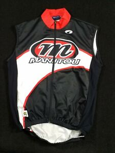 Cycling racing PARENTINI Bike wear vest sz Large Italy