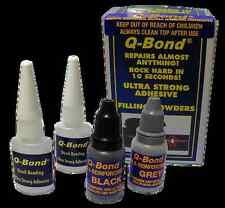 Q Bond qb2 Ultra Forte Colla Super Adesivo e Riempitivo in polvere