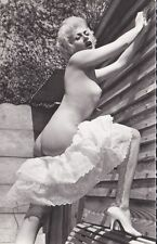 ORIGINAL FULL NUDE FRENCH REAL PHOTO POSTCARD 1950s
